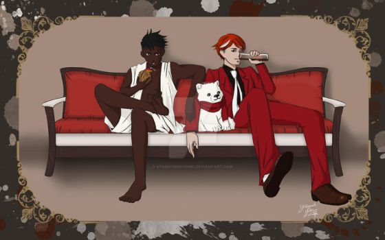 Rum and Coke Humanbent! by StarryWishShiki