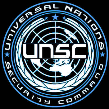 Universal Nations Security Command Logo by icemaxx1