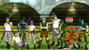 Metal Gear 2: The Zanzibar Land Mercenaries by Atomic-Chinchilla