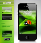 MiniSlider iPhone 4 theme by Benjamin-Dandic