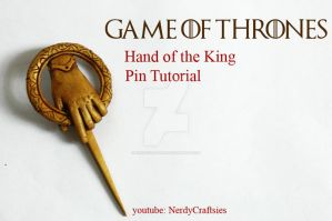 Hand Of The King Pin Tutorial by NerdEcrafter
