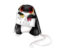 Baby Virtus Will Hug you for food. by LimeReptile