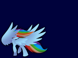 Dashie Wallpaper by midnightpremier