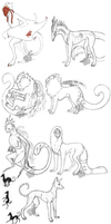 Sketchdump April 2014 by Araktugage