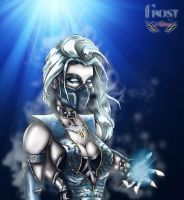 Frost from Mortal kombat by Zupano
