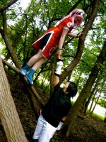 SAsuSaku in the forest... by Nekochibiproductions