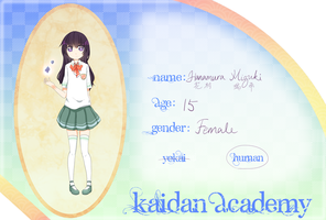 ::Kaidan Academy Application:: by JoSachi