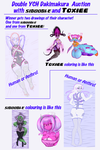 Double YCH Dakimakura with Toxiee [CLOSED] by Sigoogle