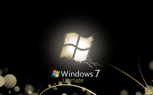 Windows 7 Bright Black by CaHilART