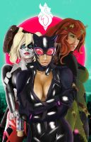 Gotham City Sirens by Corverez