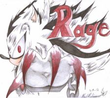 Rage Profile Shot by TheCrazyKid