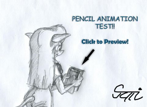 My Pencil Animation Test 2. (Preview) by MartonSzucsStudio