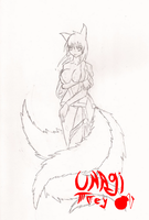 Kitsune by UnagiTakanashi
