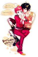marshal lee and prince bubblegum by juneflower22