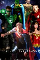 The Justice League Poster by PaulRom