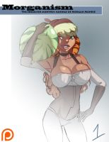Patreon Artbook Cover by morganagod
