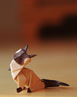 origami Cat by nekomancer123