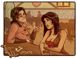 Lost in the Vale - Chapter 1 - Pages 6-7 UP! by CrystalCurtis