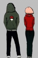 SasuSaku: Hoodies by bibsa1