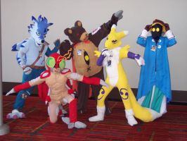 We are the Digimon and Vivi by titanstargirl