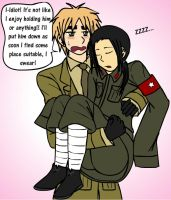 APH: Romantic(?) Tsundere by thingy-me-jellyfis
