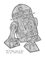 R2-D2 Maze by violetice