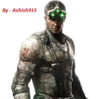 Sam Fisher By Ashish913 by Ashish-Kumar