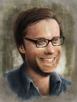 Stephen Merchant by KayGoody