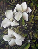 (flowers) Oil Painting by Boias