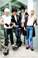 Air Gear : Team 01 by Bluedknn