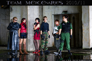 Team Mercenaries 2010 Pt. 2 by ardenilia