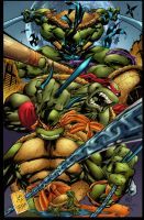 Ninja Turtle colored by Javilaparra