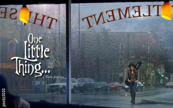 One Little Thing Title Card by peetz5050