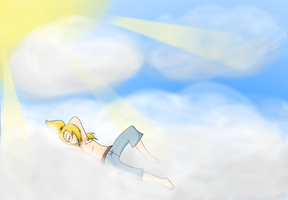 in the clouds by akatsuki123me