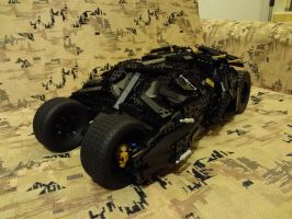 Lego The Tumbler (Set 76023) by EgonDaLatz