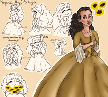 (and)Peggy Schuyler by Julkauke