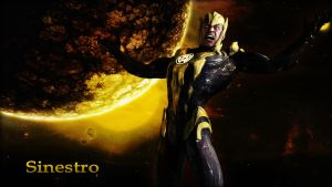 Sinestro Wallpaper by BatmanInc