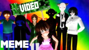 [MMD] Creepypasta MEMES - VIDEO by Laxianne