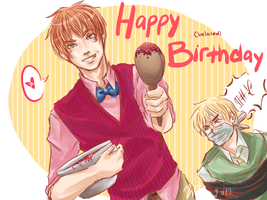 Happy -Belated- Birthday Beek by javanazV