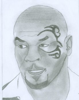Mike Tyson by Hussam123