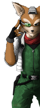 Fox McCloud by Red-Indicator