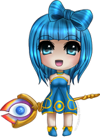 Maplestory Ice-Lightning Mage: MarinaHikari by ChaoticBlossoms