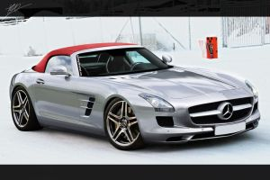 Mercedes SLS Roadster TOPON by TKtuning