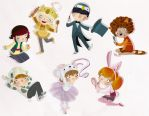 pocket-zoo . characters by Pocket-Zoo
