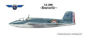 S.N.C.A.S.O. SO.2000 Roussette by Bispro
