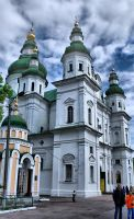 Trinity Cathedral by gothic-wish
