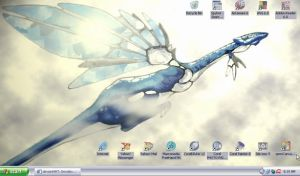 Tulin Dragon Desktop by geargrinder