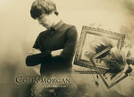 Colin Morgan fan art by ektapinki