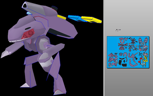 Genesect V2 Done Unfold by javierini