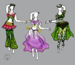 Belly dance Blossoms by Pearllight180